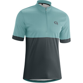 Gonso Oscar Half-Zip SS Bike Jersey Men mineral blue